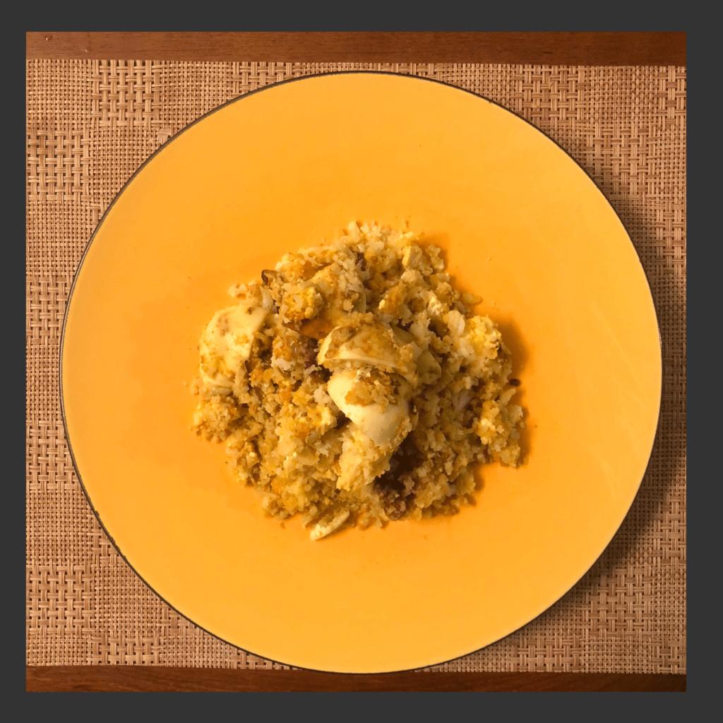 Keto Egg Biryani